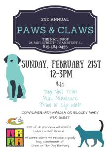 2nd annual Paws and Claws 2016