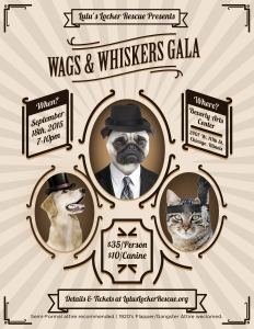Wags & Whiskers Gala_flyer_2015