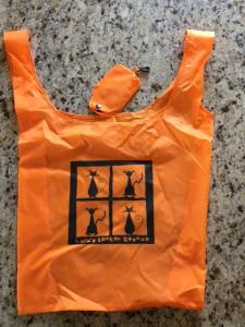 orange LLR bag